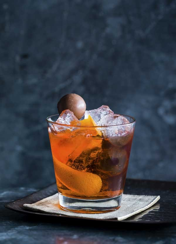 Dark Rum Cocktail Recipe with Brandy