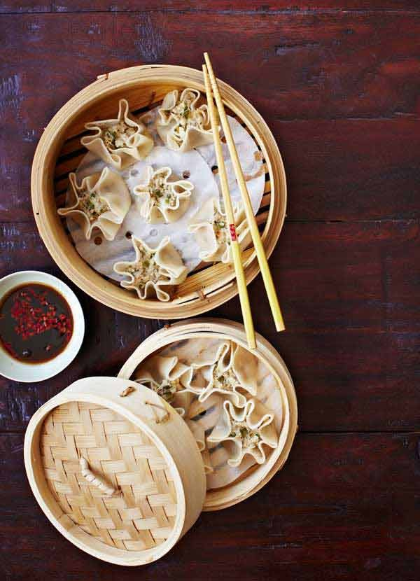 Best chinese recipes for chinese food olive magazine pork and prawn dumplings recipe forumfinder Gallery