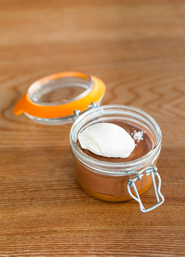 Salted Caramel Chocolate Pot Recipe
