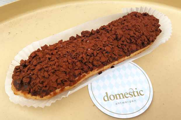 Chocolate Eclair at Domestic Antwerpen