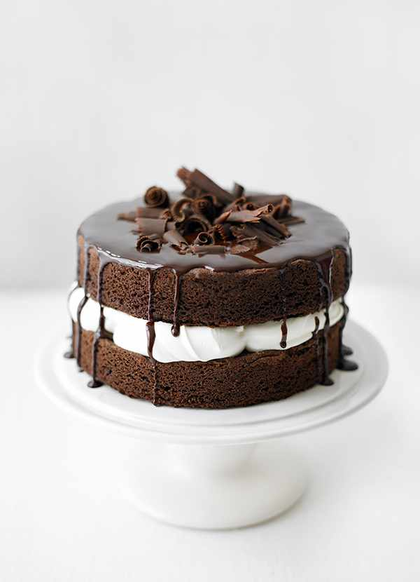 Cake Recipes In Pictures: Easy Sponge Cake Recipe For A Basic Chocolate Sponge Cake