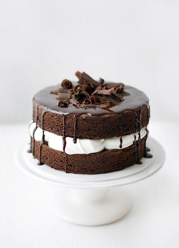 How to make basic chocolate sponge cake