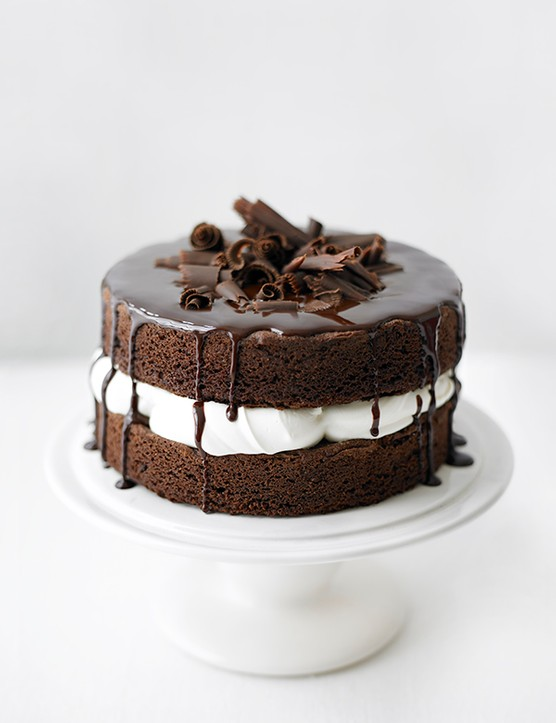 Easy Sponge Cake Recipe for a Basic Chocolate Sponge Cake