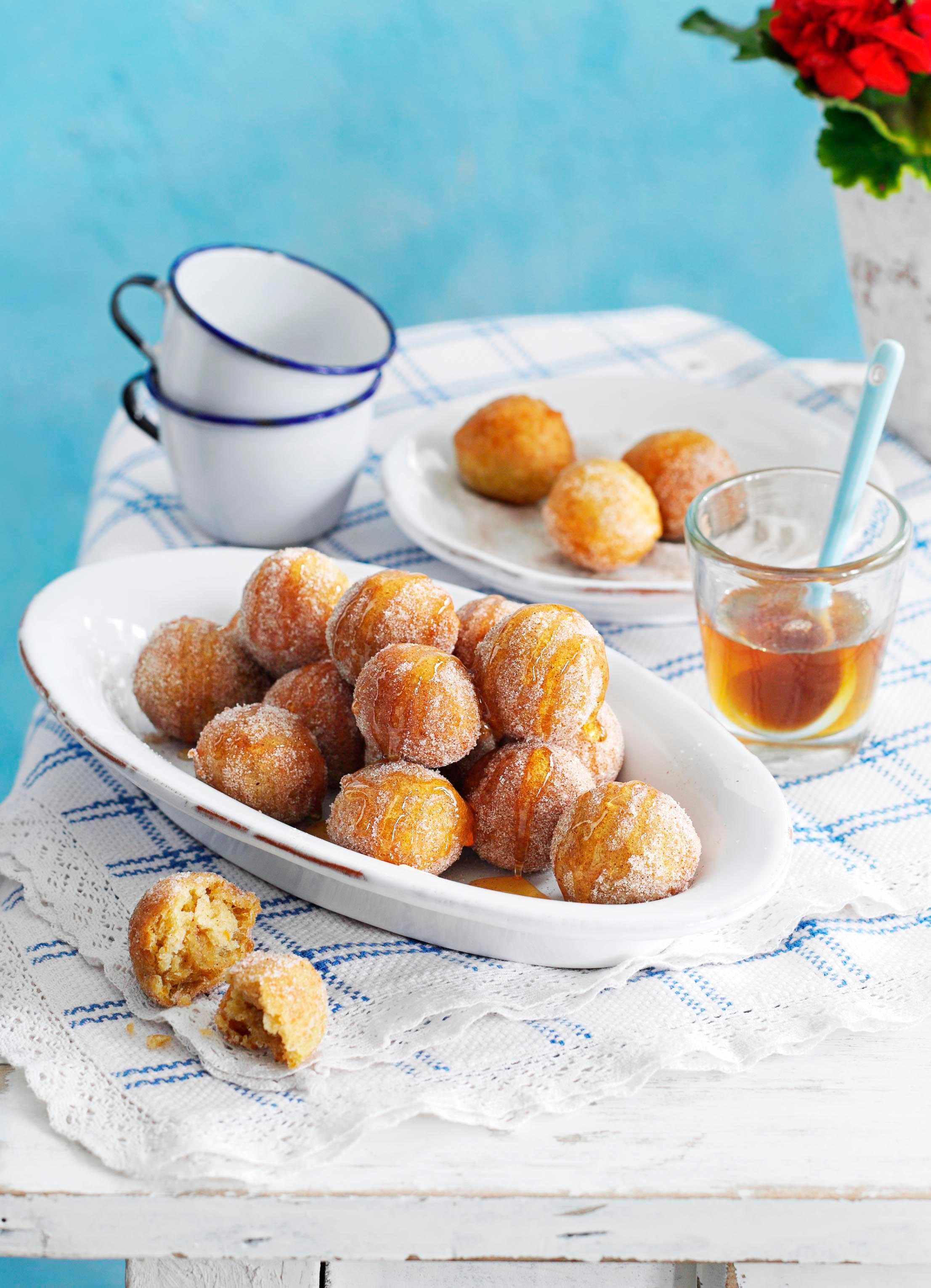 Loukoumades Recipe (Greek Donuts)