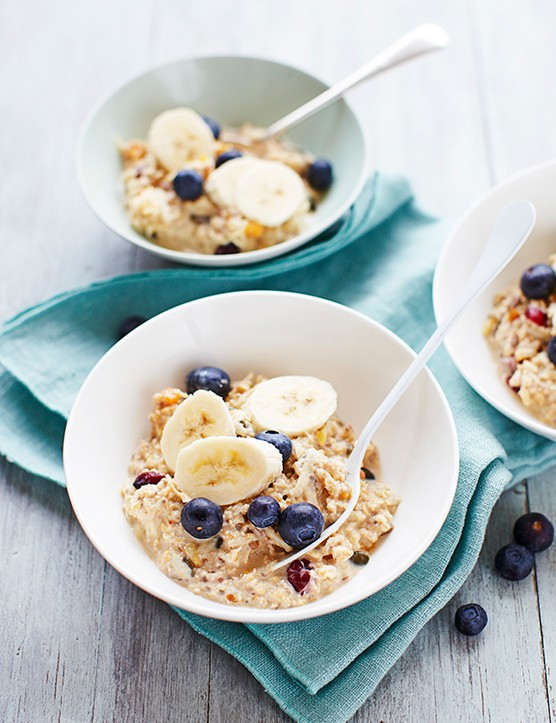 Bircher muesli with chia seeds