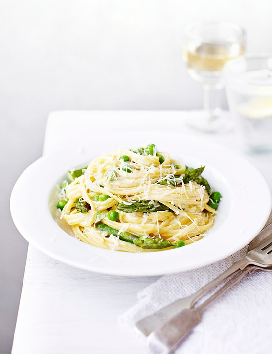 Vegetarian Spaghetti Carbonara Recipe