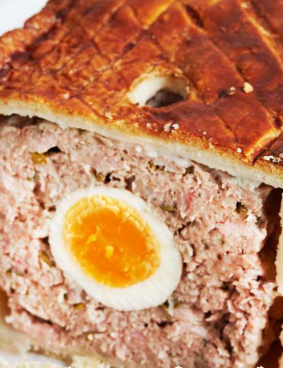 veal and ham pie