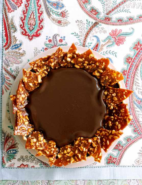 Chilli and Chocolate Tart Recipe with Peanut Chipotle Brittle Recipe