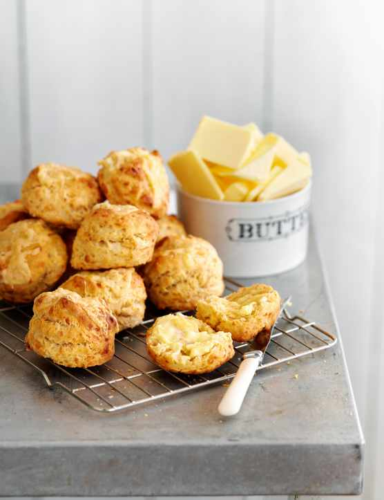 Wensleydale Cheese Scones Recipe