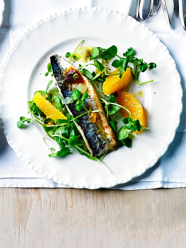 Grilled Mackerel Fillets Recipe with Lime Mojo