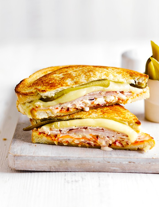 California Grilled Reuben Recipe