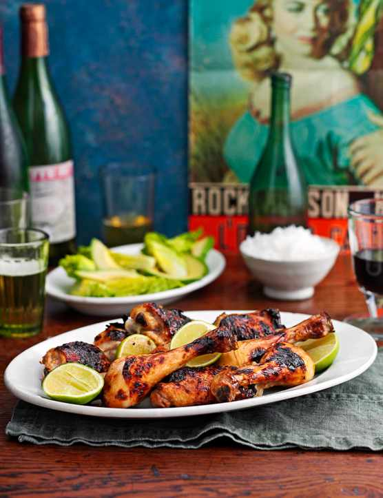 Jerk Chicken Kebabs Olive Magazine Olivemagazine