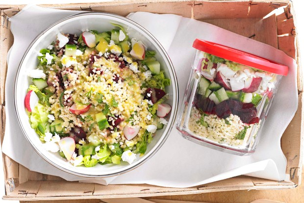 Jam Jar Salad Recipe