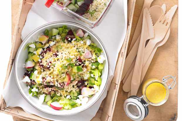 Jam Jar Salads Recipe