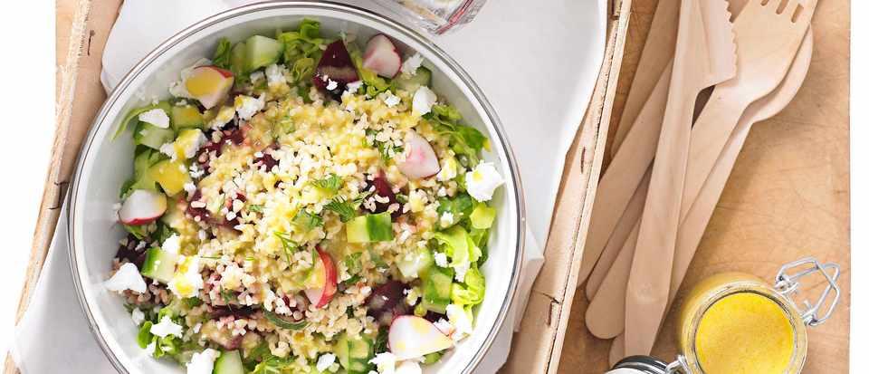 Jam Jar Salads Recipe