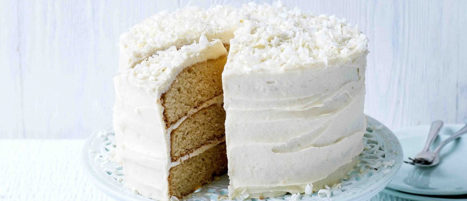 White Chocolate Cake Recipe Olivemagazine