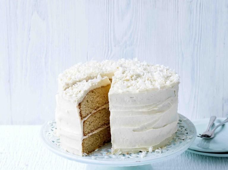 White Chocolate Cake Recipe Olivemagazine
