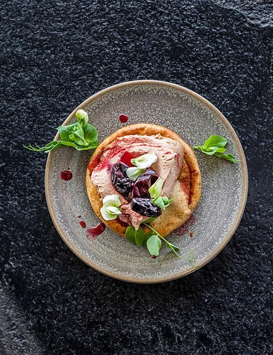 Chicken Liver Pâté Recipe with Drop Scones