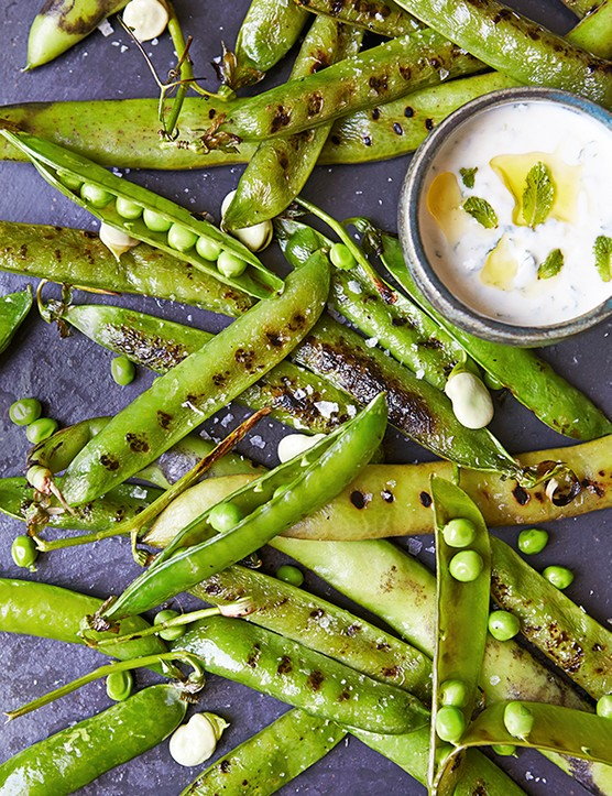 Grilled Peas Recipe BBQ Side Dish