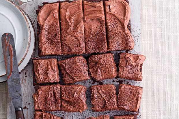 Children's Chocolate Birthday Cake (Sheet Cake)