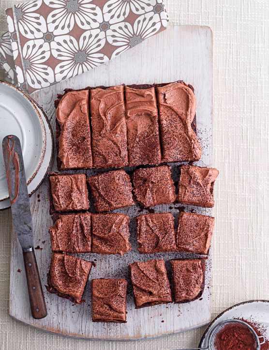 Children's Chocolate Birthday Cake Recipe (Sheet Cake)