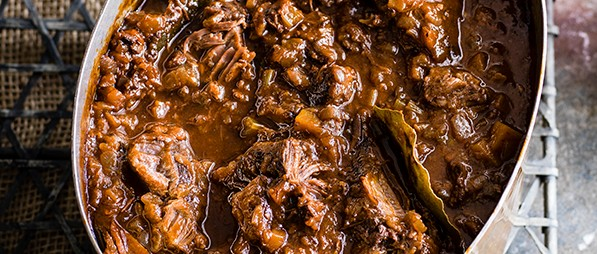 Tuscan Slow Cooked Shin Of Beef With Chianti Recipe Olivemagazine