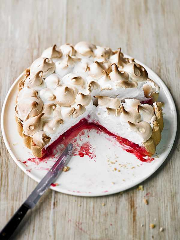 Raspberry Meringue Pie Recipe