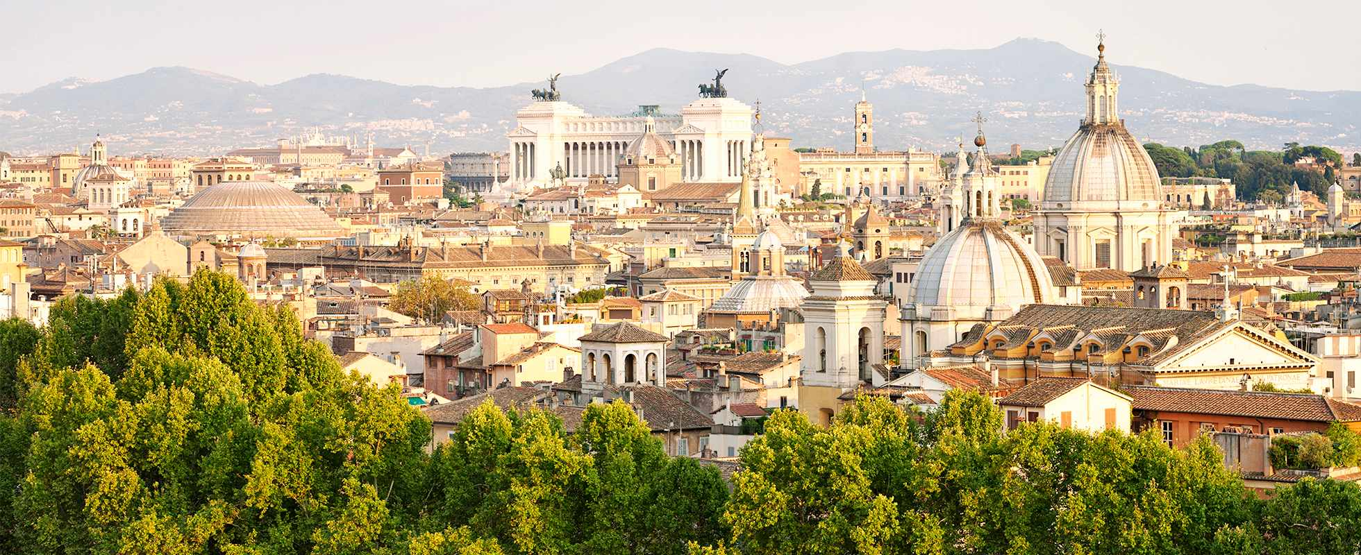 City view of Rome