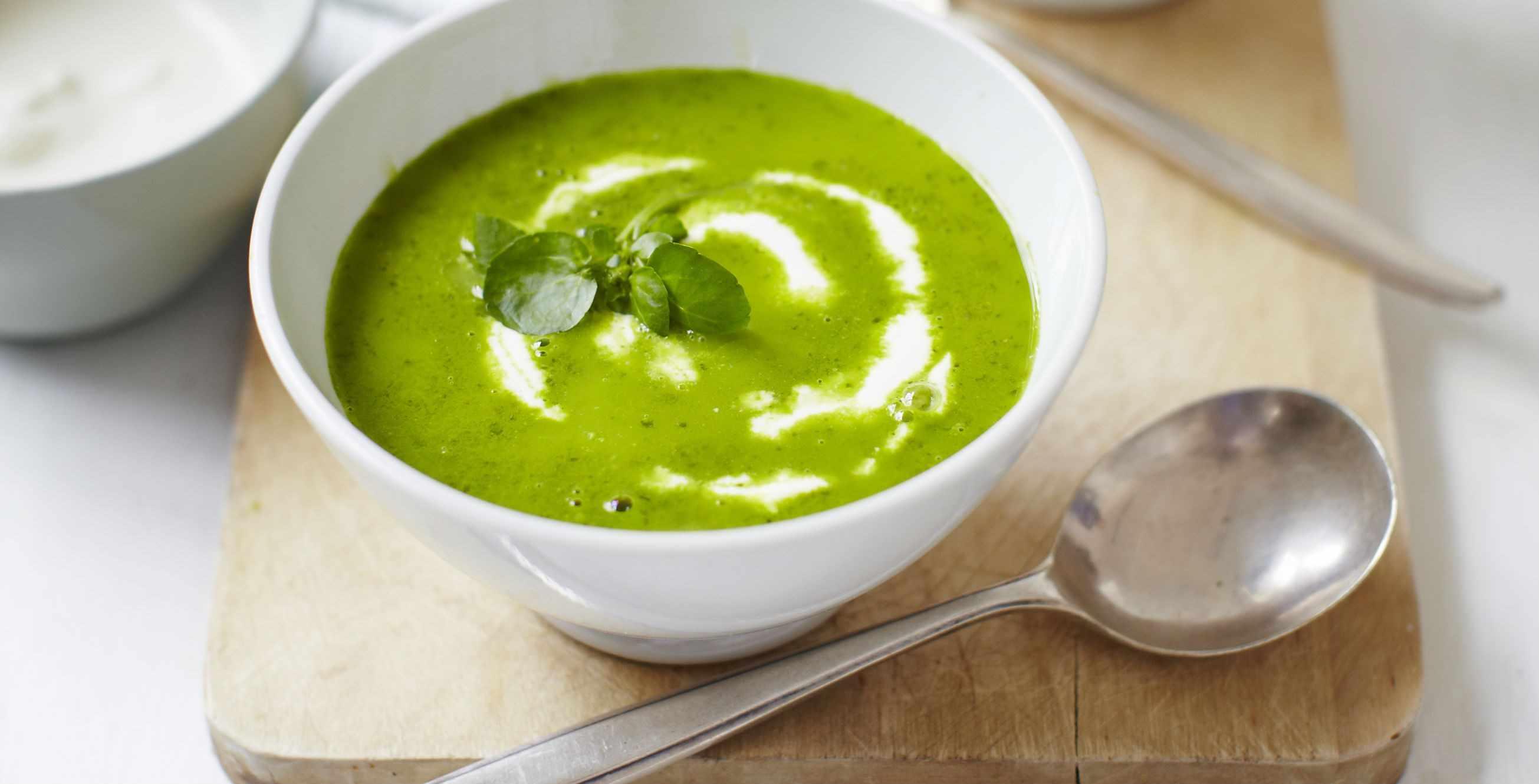 Vegan Watercress Soup Recipe With Cashew Cream
