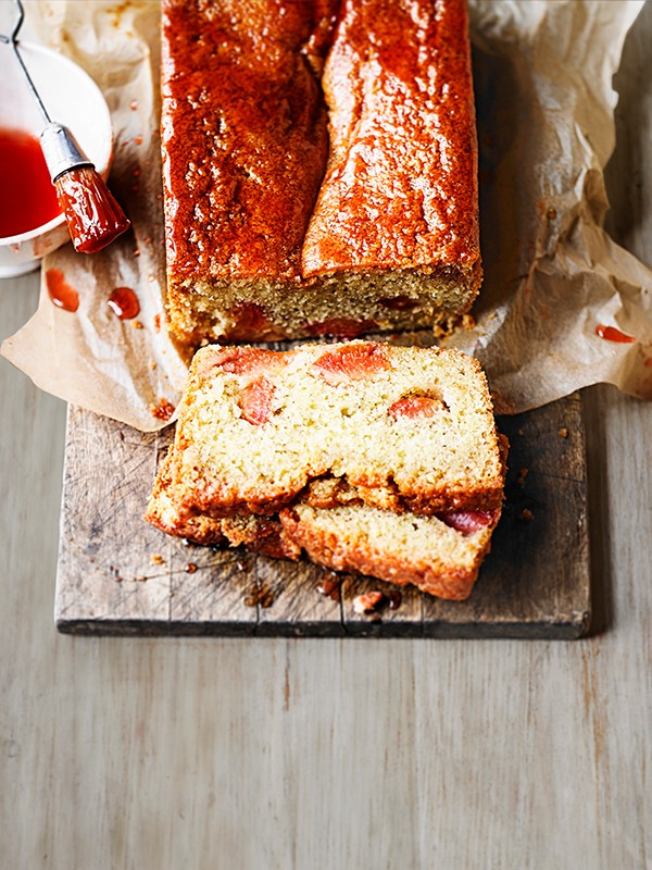 Plum Loaf Cake with Earl Grey