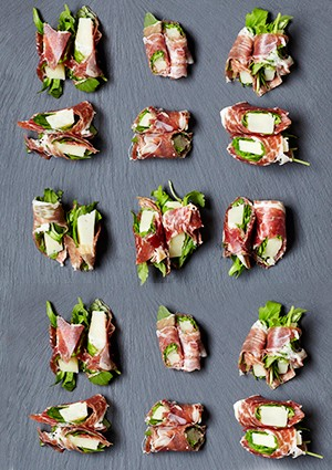 Ibérico, manchego and rocket bites recipe