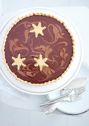Salted Caramel Tart Recipe With Chocolate