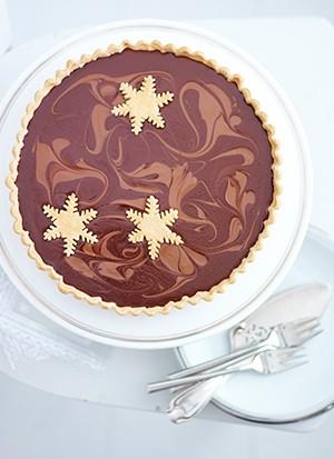 Salted Caramel Tart Recipe With Chocolate