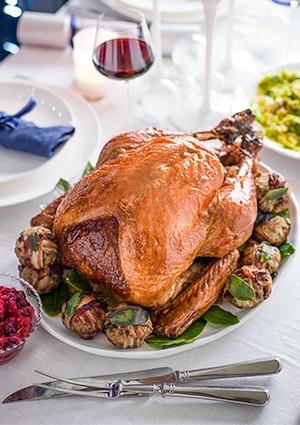 Turkey Recipe with a Maple and Bourbon Glaze