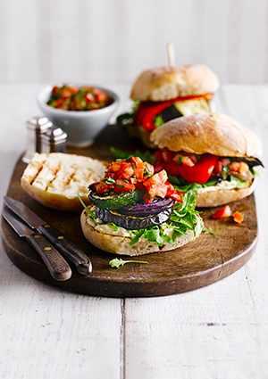 Veggie Burger Allotment recipe