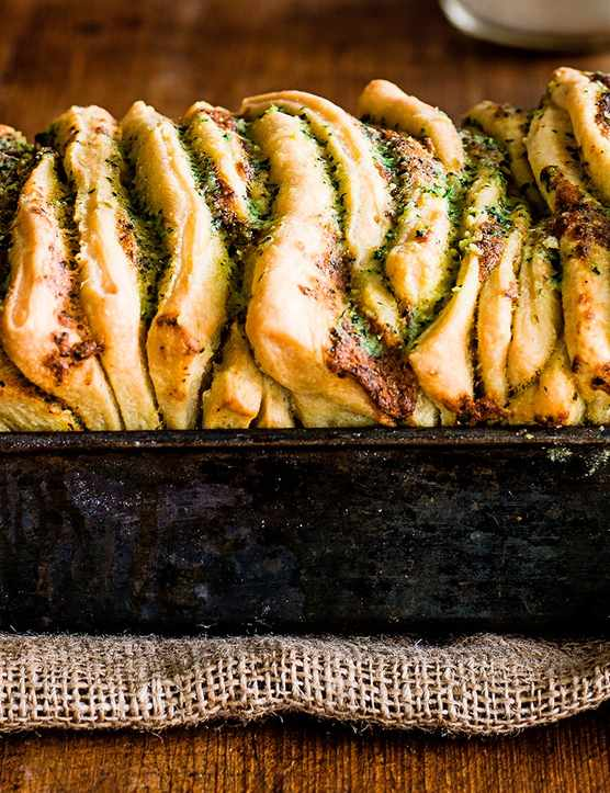 Pull Apart Garlic Bread Recipe