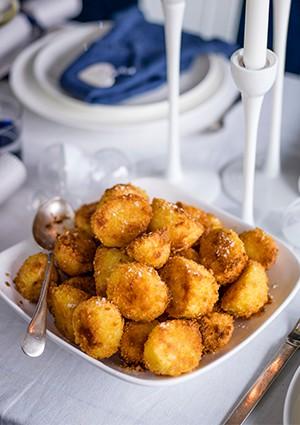 Schnitzel Roast Potatoes