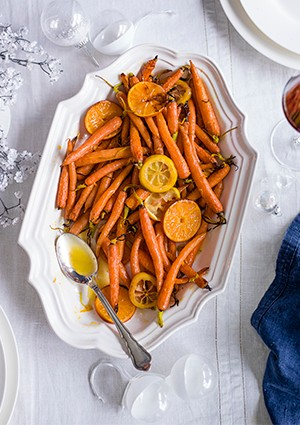 Baby Roasted Carrots Recipe With Citrus