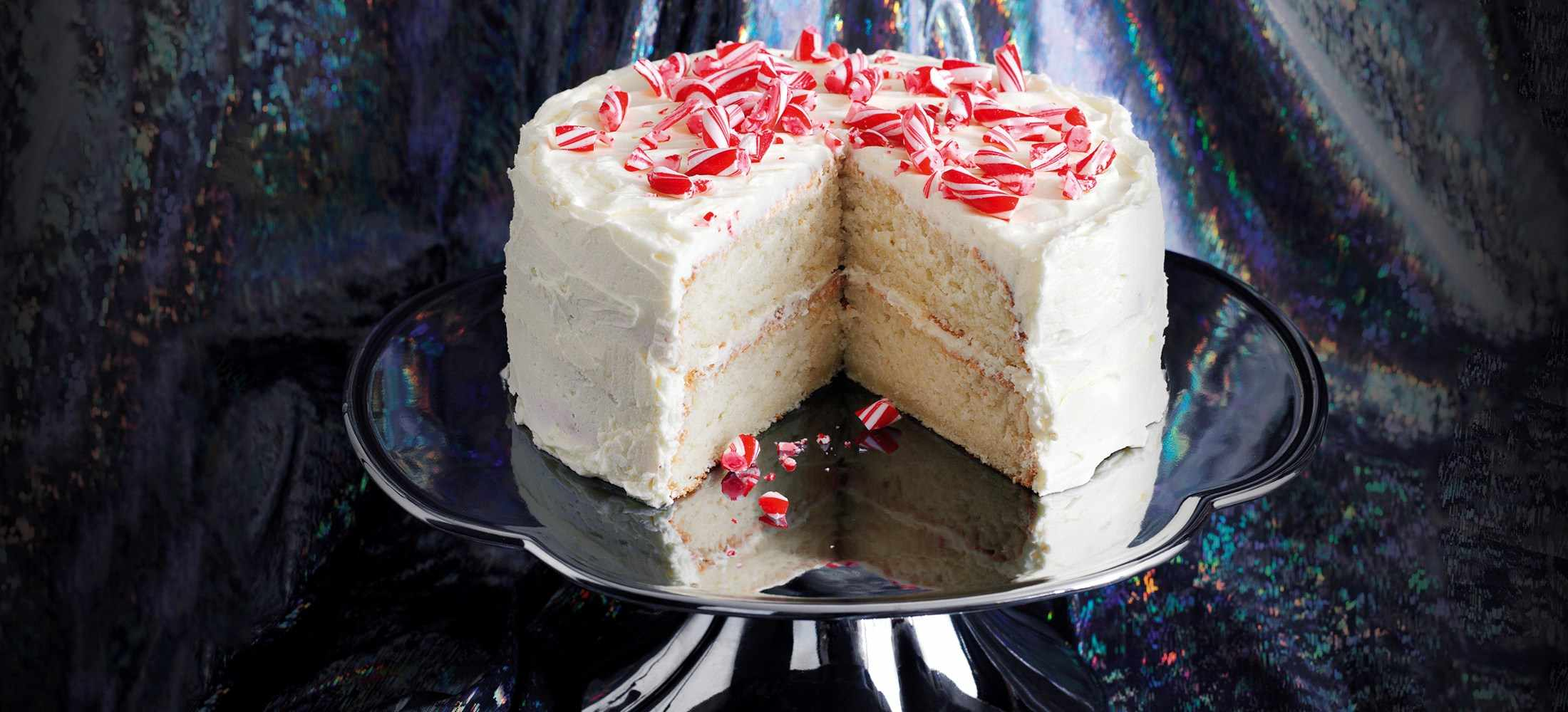 White Christmas Cake Recipe