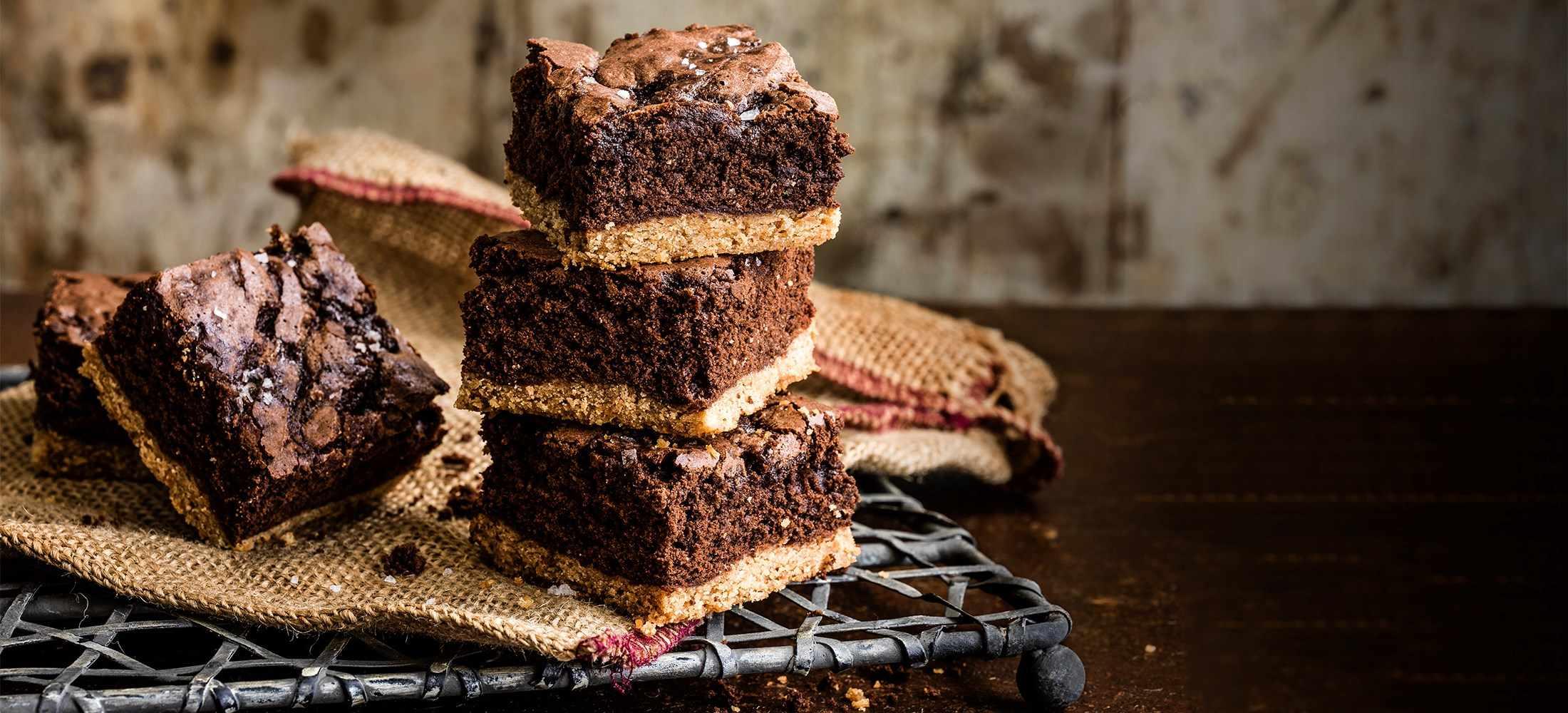 Salted Maple Chocolate Brownies Recipe