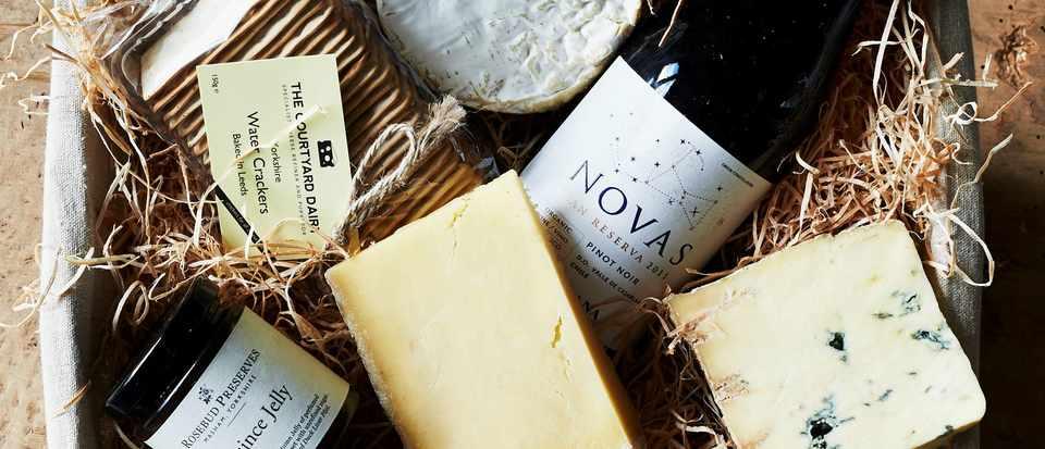 Best of British cheese