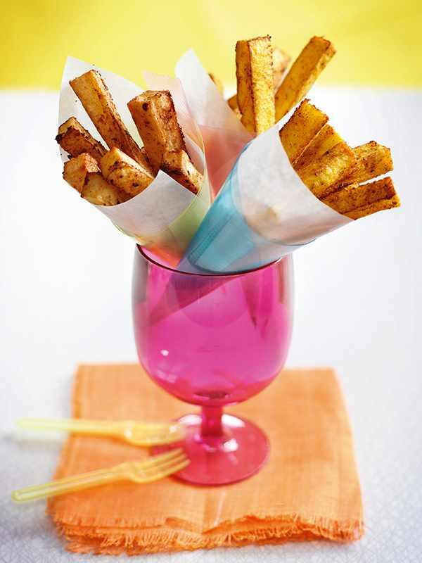 Spiced Potato Cones Recipe