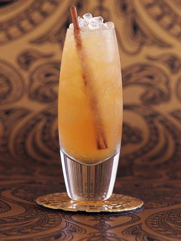 Rum Cocktail Recipe with Honey, Ginger and Elderflower