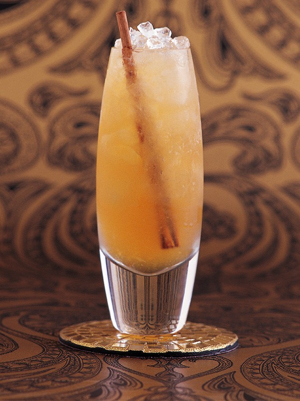 Rum Cocktail Recipe with Honey, Ginger and Elderflower