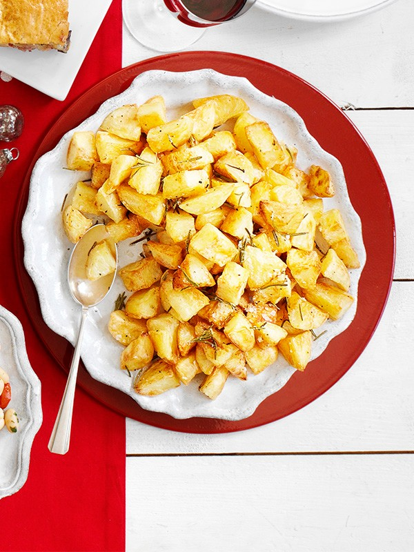 Roasted Mini Potatoes In Olive Oil