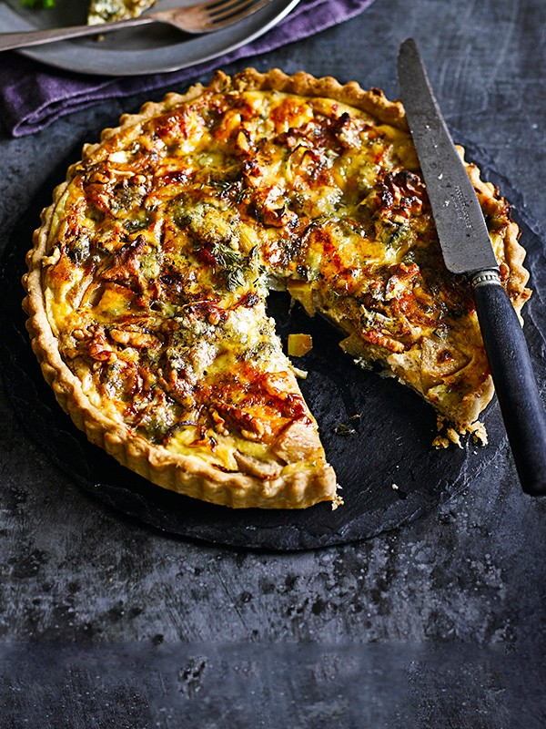 Pear and Blue Cheese Tart