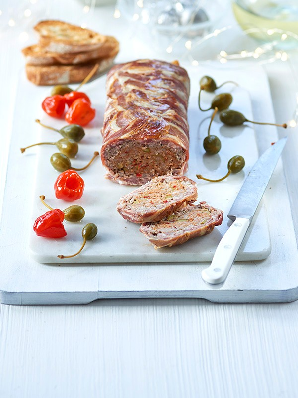 Pork Terrine Recipe with Chorizo