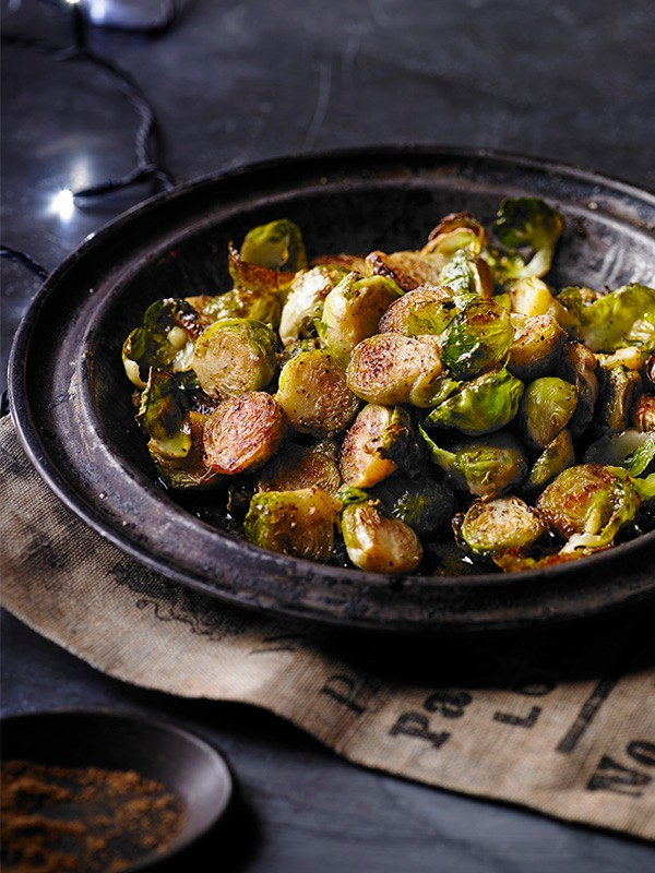 Garam Masala Roast Brussels Sprouts Recipe