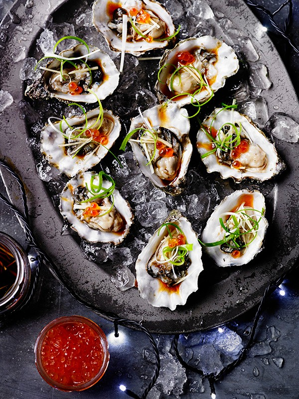 Oysters With Japanese Dressing Recipe
