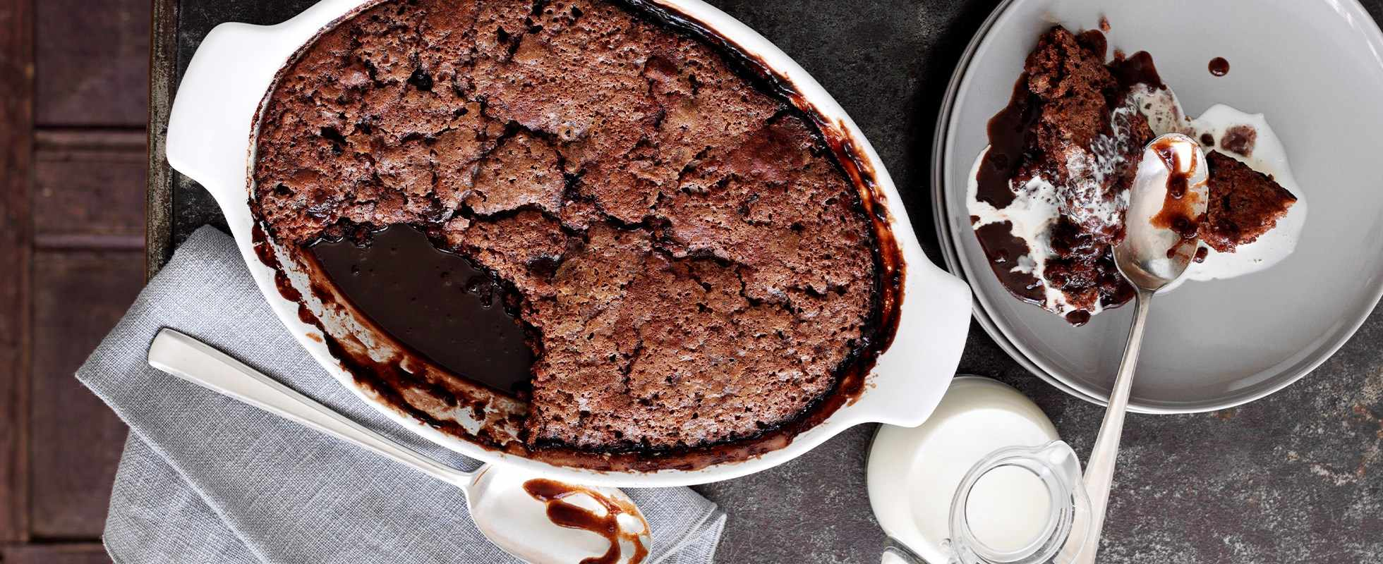 Self-Saucing Chocolate Pudding Recipe